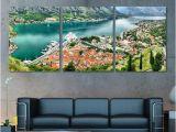 Panoramic Wall Art Murals Montenegro Wall Art Kotor Panoramic Canvas Print Kotor Skyline Kotor Wall Art Kotor Print Kotor Poster Montenegro Gift Montenegro Decor