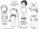 Paper Dolls Print Outs Coloring Pages Drawn Doll Paper Cut Pencil and In Color Drawn Doll Paper Cut