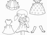 Paper Dolls Print Outs Coloring Pages Free Printable Paper Doll Templates