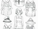 Paper Dolls Print Outs Coloring Pages Line Printable Paper Dolls Paper Dolls Print Outs Coloring Pages