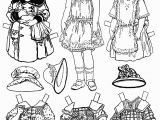 Paper Dolls Print Outs Coloring Pages Paper Dolls Coloring Page