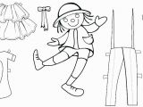 Paper Dolls Print Outs Coloring Pages Printable Paper Dolls Doll Template Free Clothes Patterns Craft with