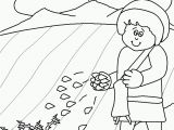 Parable Of the sower Bible Coloring Pages Parable the sower Colouring Sheet