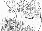 Parable Of the sower Bible Coloring Pages the Parable Of the sower Coloring Page
