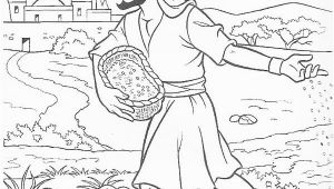 Parable Of the sower Coloring Page Parable Of the sower Coloring Page for Kids