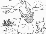Parable Of the sower Coloring Page Parable Of the sower Coloring Pages