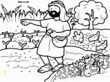 Parable Of the sower Coloring Page Parable Of the sower Week 3