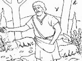 Parable Of the sower Coloring Page Parable the sower Coloring Page at Getdrawings