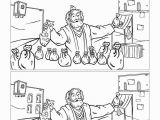 Parable Of the Talents Coloring Page the Parable Of the Talents Kids Spot the Difference Can
