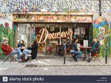 Paris Cafe Wall Mural France Paris Street Art Graffitis and Murals In Rue