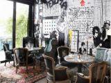 Paris Cafe Wall Mural Renoma Café Gallery