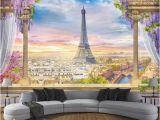 Paris Wall Murals Wallpaper Custom Any Size Wallpaper 3d Stereo Rome Column Paris tower Murals Restaurant Living Room Bedroom Backdrop Wall Decor 3 D Hd It Wallpapers Hd