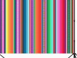 Party City Wall Murals ᗕcapisco Mexican Stripes Graphy Backdrop Colorful