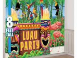 Party City Wall Murals Luau Party Decorating Kit Party City Both