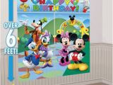 Party City Wall Murals Mickey Mouse Party Supplies Mickey Mouse Birthday Ideas