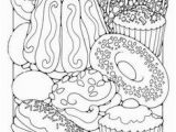 Pastry Coloring Pages 130 Best Coloring Sweets Food Images On Pinterest