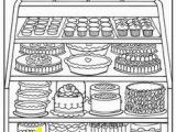 Pastry Coloring Pages 504 Best Coloring Pages Images On Pinterest