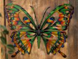 Patio Wall Murals Have to Have It 3d butterfly Metal Outdoor Wall Art $39 99