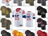 Patrick Mahomes Coloring Pages 2019 Kansas Citychiefs 15 Patrick Mahomes Men Women Youth Olive Camo Salute to Service Retro Usa Flag Statue Liberty Limited Jersey From