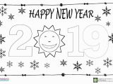 Patriotic Christmas Coloring Pages Happy New Year Coloring Page for Kids