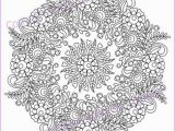 Pattern Coloring Pages Pdf Mandala Coloring Page for Adult Pdf Doodle Zentangle Art