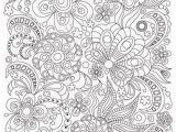 Pattern Coloring Pages Pdf Zentangle Art Coloring Page for Adults Printable Doodle