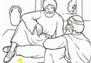 Paul and Ananias Coloring Page 218 Best Kids Paul Images On Pinterest