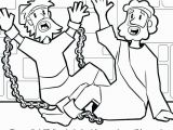 Paul and Silas In Prison Coloring Page Coloring Picture Of Paul and Silas In Jail 15 Linearts for Free