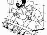 Paul and Silas In Prison Coloring Page Lydia Coloring Page Paul and Silas In Jail Coloring Page Kids Coloring