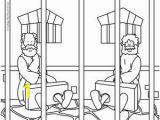 Paul and Silas In Prison Coloring Page Printables Crafting the Word God