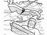 Paul and the Shipwreck Coloring Page Paulus Leidt Schipbreuk Children Church Crafts