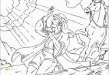 Paul On Damascus Road Coloring Page Paul On Road to Damascus Coloring Page Coloring Pages 4 U