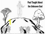Paul Taught In athens Coloring Page 17 Best Apostle Paul athens Images