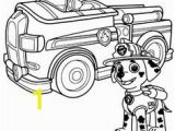 Paw Patrol Marshall Fire Truck Coloring Page Beate Tauer Beatetauer Auf Pinterest