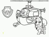 Paw Patrol Marshall Fire Truck Coloring Page Skye and Her Helicopter Paw Patrol Coloring Pages