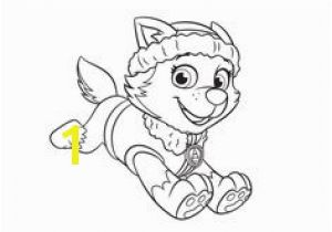 Paw Patrol Skye and Everest Coloring Pages 645 Best Paw Patrol Images