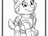 Paw Patrol Skye and Everest Coloring Pages Print Paw Patrol Everest Coloring Pages Neu Paw Patrol Ausmalbilder