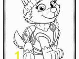 Paw Patrol Skye and Everest Coloring Pages Skye Paw Patrol Coloring Pages Coloring Pages