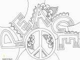 Peace Sign Coloring Pages Peace Sign Coloring Pages Printable