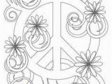 Peace Sign Coloring Pages Simple and attractive Free Printable Peace Sign Coloring Pages