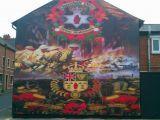 Peace Wall Belfast Murals Loyalist Mural Woodvale Belfast In Loving Memory