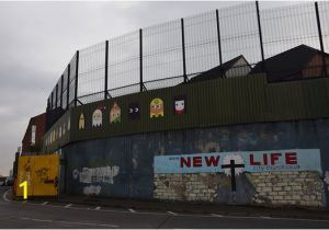 Peace Wall Murals Belfast Peace Wall Gate Picture Of Paddy Campbell S Belfast Famous