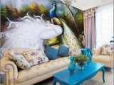 Peacock Feather Wall Mural Wall Mural Fashion Wallpaper Peacock