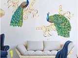 Peacock Walk Wall Mural Amazon Kelay Fs 3d Door Wall Murals Wallpaper Door