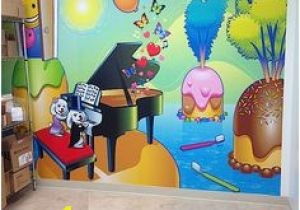 Pediatric Wall Murals 29 Best Illustrated Walls Images