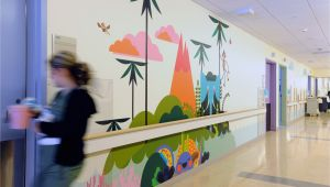 Pediatric Wall Murals Mattel Children S Hospital Phase 2 In 2019