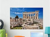 Peel and Stick Wall Murals Amazon Wallmonkeys Wm Parthenon Temple On the Acropolis In athens Peel and Stick Wall Decals 24 In W X 16 In H Medium