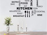 Peel and Stick Wall Murals Canada Decalmile Kitchen Food Quotes Wall Decals Black Wall Letters Stickers Dining Room Kitchen Wall Art Decor
