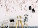 Peel and Stick Wall Murals Canada Self Adhesive 3d Painted Flower Branch Wc0770 Wall Paper Mural Wall Print Decal Wall Murals Muzi In Wallpaper Wallpapers From