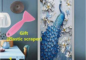Peel Off Wall Murals Amazon Kelai & Craft Art Decor 3d Door Wall Mural Decals Self